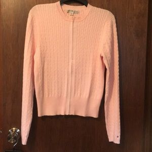Ladies sweater pink worn twice in great condition